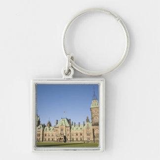 Parliment Building in Ottawa, Ontario, Canada Keychain