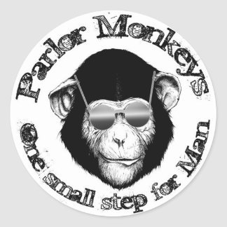 Parlor Monkeys Stickers