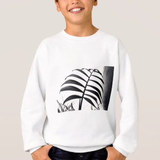 Parlor Palm Black and White Sweatshirt