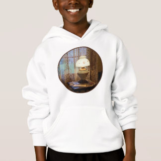 Parlor With Hurricane Lamp Hoodie
