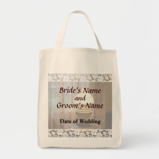 Parlor With Hurricane Lamp Wedding Products Tote Bag