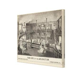 Parlors of the Arlington, Ocean Grove, NJ Canvas Print