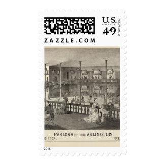 Parlors of the Arlington, Ocean Grove, NJ Postage Stamp