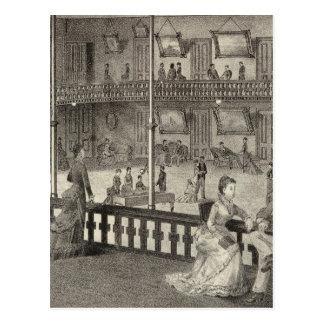 Parlors of the Arlington, Ocean Grove, NJ Postcard