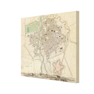 Parma Stretched Canvas Prints