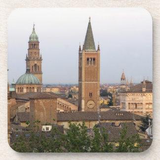 Parma city center; Battistero church on the Drink Coaster