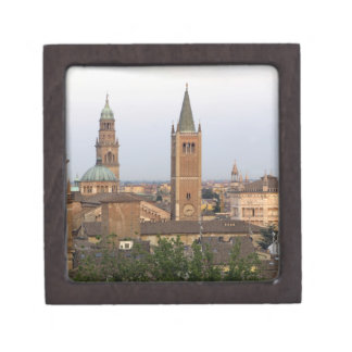 Parma city center; Battistero church on the Jewelry Box