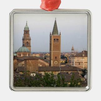 Parma city center; Battistero church on the Metal Ornament