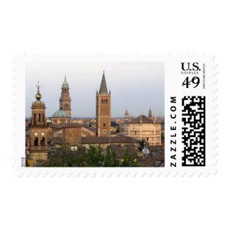 Parma city center; Battistero church on the Postage Stamp