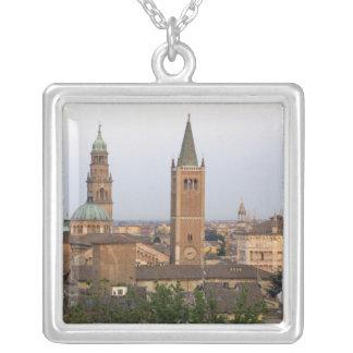 Parma city center; Battistero church on the Square Pendant Necklace