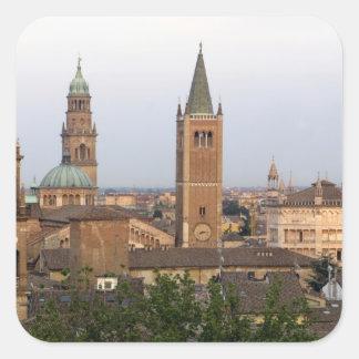 Parma city center; Battistero church on the Square Sticker