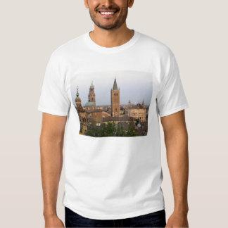 Parma city center; Battistero church on the T-Shirt