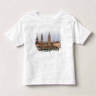 Parma city center; Battistero church on the Toddler T-shirt