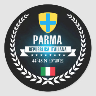 Parma Classic Round Sticker