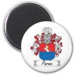 Parma Family Crest Magnets