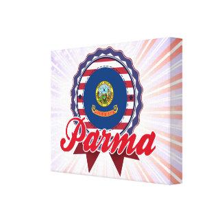 Parma, ID Canvas Print