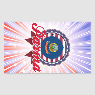 Parma, ID Rectangular Sticker