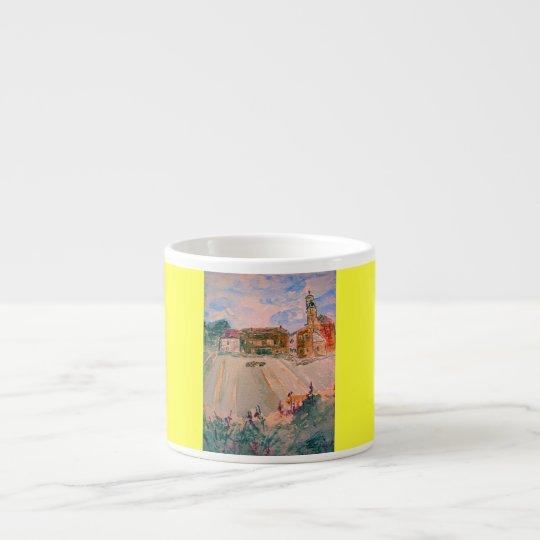 parma italy art espresso cup
