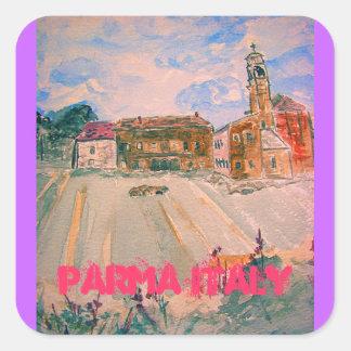 parma italy art stickers