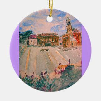 parma italy ceramic ornament