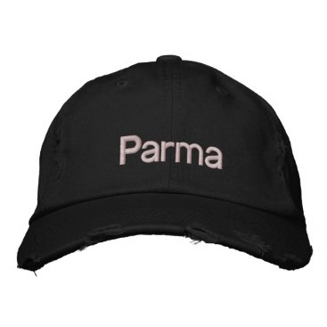 Parma ITALY Embroidered Baseball Cap
