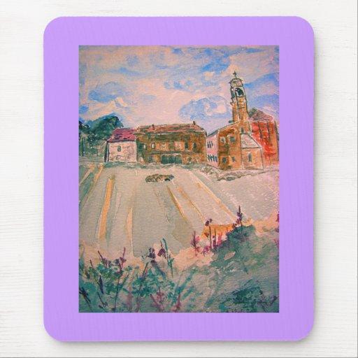 parma italy watercolour mousepads