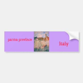 parma province italy bumper sticker