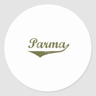 Parma  Revolution t shirts Round Stickers