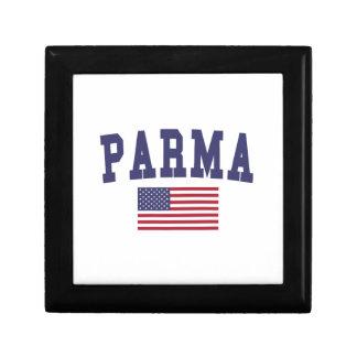 Parma US Flag Jewelry Box