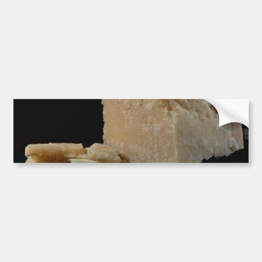 Parmesan Cheese Car Bumper Sticker