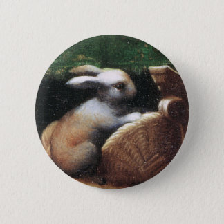 Parmigianino 1523 Rabbit Button