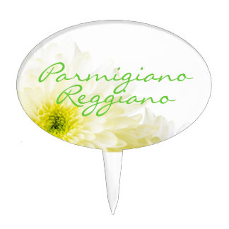 Parmigiano Reggiano Cheese Sign | Cake Topper