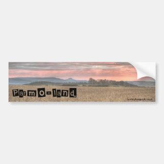 Parmo-land Bumper Sticker
