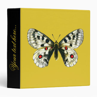 Parnassius apollo butterfly binder