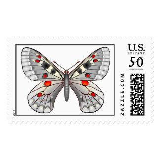 Parnassius Apollo butterfly Postage