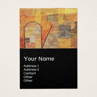 PARNASSUS / ABSTRACT,black,gold metallic Business Card
