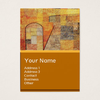 PARNASSUS / ABSTRACT BUSINESS CARD