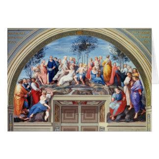 Parnassus and the Disputa, from the Stanza della S Card