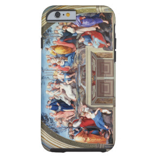 Parnassus and the Disputa, from the Stanza della S Tough iPhone 6 Case