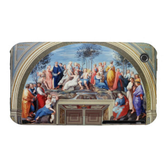 Parnassus and the Disputa, from the Stanza della S Case-Mate iPhone 3 Cases