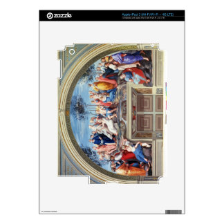 Parnassus and the Disputa, from the Stanza della S iPad 3 Decal