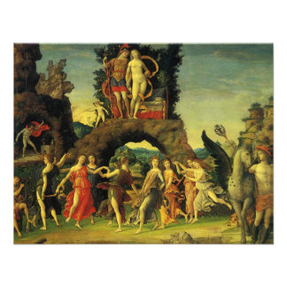 Parnassus Mars and Venus by Andrea Mantegna Personalized Invite