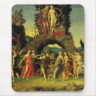 Parnassus, Mars and Venus by Andrea Mantegna Mouse Pad