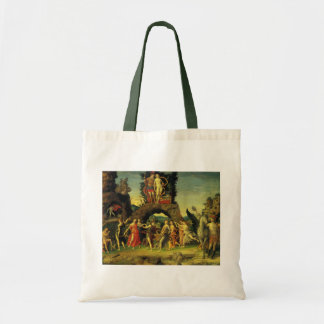 Parnassus, Mars and Venus by Andrea Mantegna Tote Bag