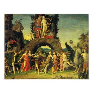 Parnassus Marte y Venus de Andrea Mantegna Invitaciones Personales