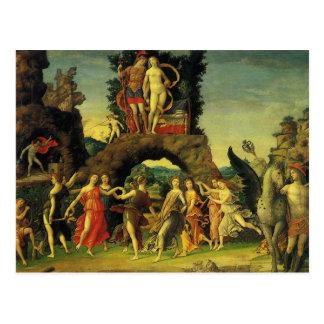 Parnassus, Marte y Venus de Andrea Mantegna Postal