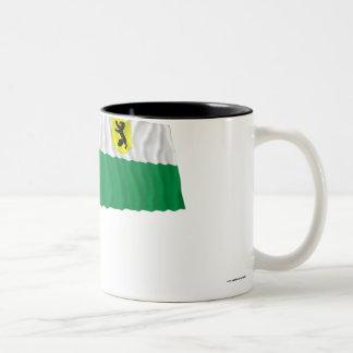 Pärnu Waving Flag Two-Tone Coffee Mug