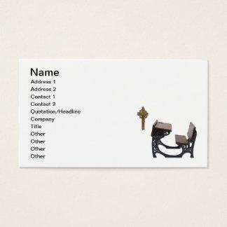 Parochial School Desk Business Card