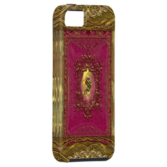Parocollet Raspberry Victorian Tough iPhone SE/5/5s Case