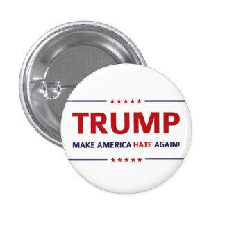 Parodia de Donald Trump Pin Redondo De 1 Pulgada
